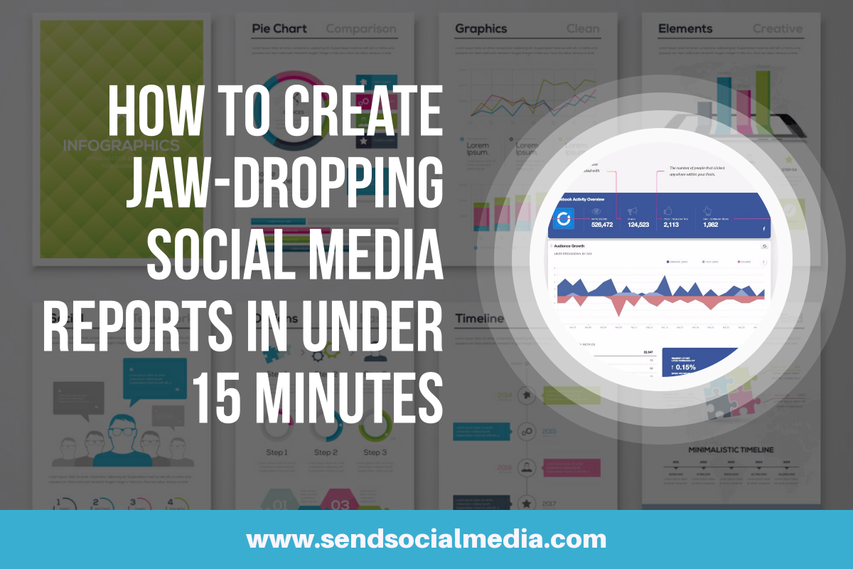 How to Create Jaw-Dropping Social Media Reports in Under 15 Minutes