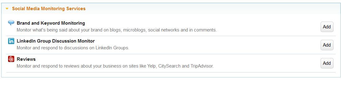 Monitor Reviews on Yelp, CitySearch and TripAdvisor