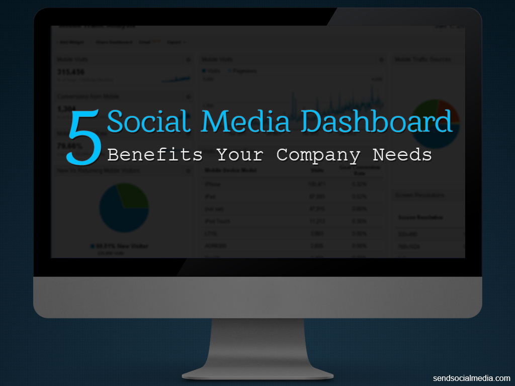 5 Social Media Dashboard Benefits Your Company Needs