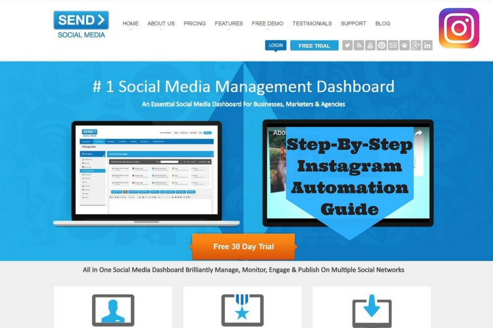 Send Social Media's Step-By-Step Instagram Automation Guide